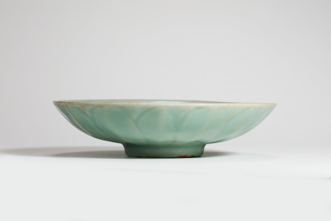 Longquan Kiln Celadon Floral Plater of Song Dynasty - 3
