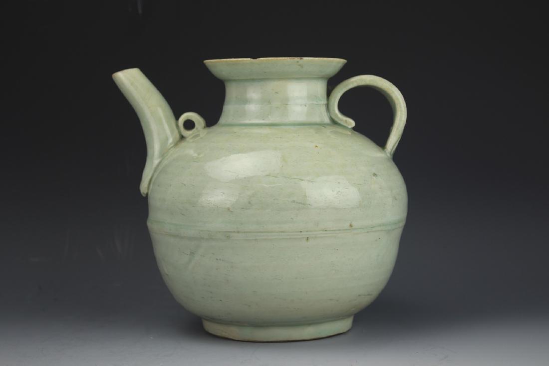 A Celadon-Glazed Water Pot