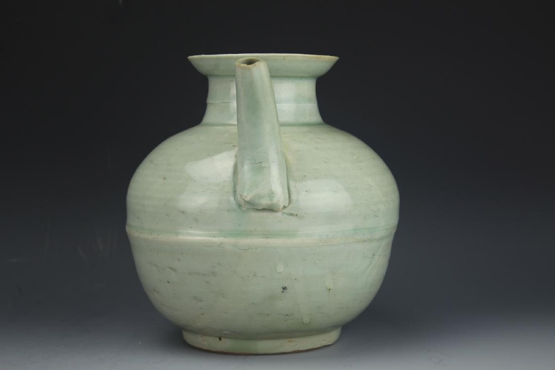 A Celadon-Glazed Water Pot - 2