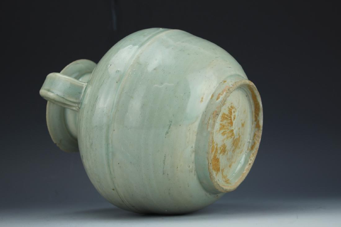A Celadon-Glazed Water Pot - 7