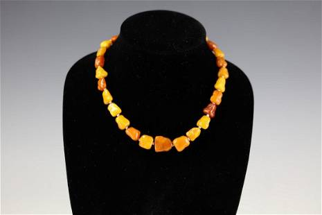 Beeswax Necklace