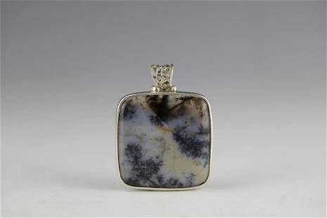 Water Grass Agate Pandent