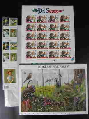 USA Stamp Collection of Dr. Seuss 37c Longleaf Pine