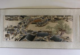A Chinese Riverside Embroidery