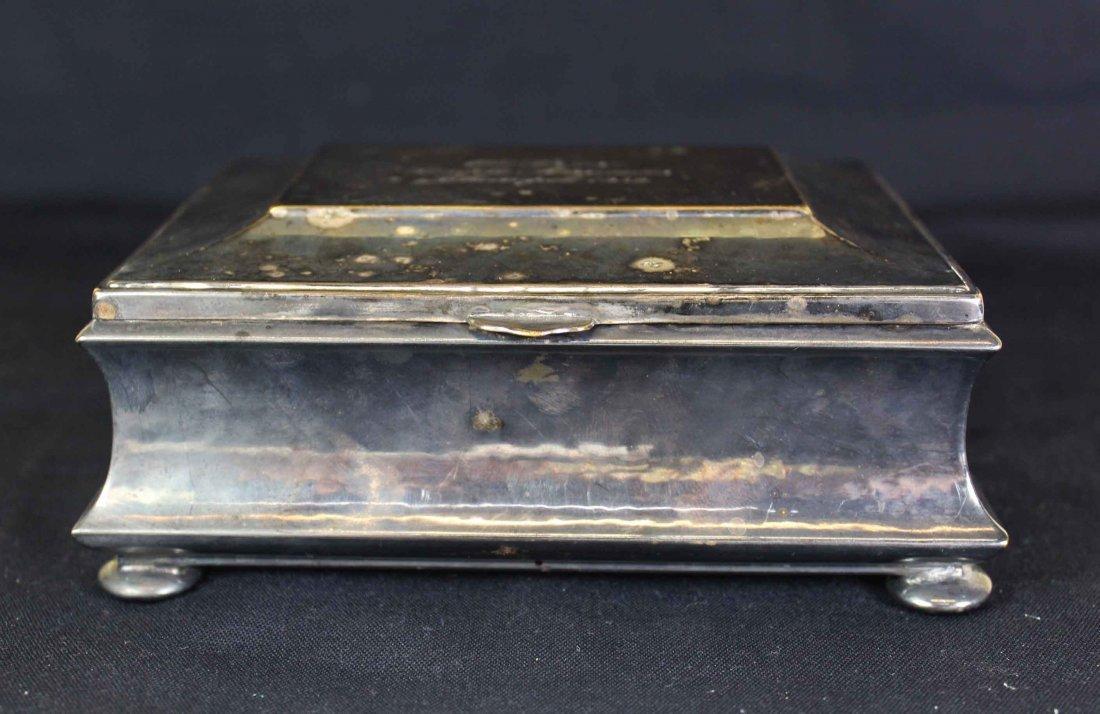 A Sliver Cigar Box