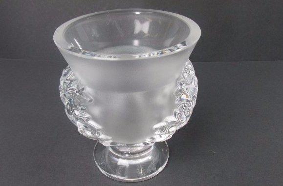 Lalique Saint Cloud Crystal Vase
