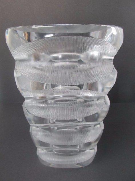 Lalique Contemporary Crystal Vase