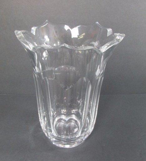 Cartier Crystal Tulip Vase