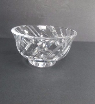 Tiffany & Co. Royal Brierley Crystal Bowl
