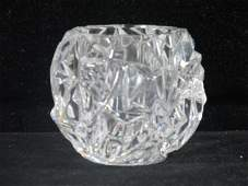 Tiffany Cut Crystal Votive Candle /Tea light Holder