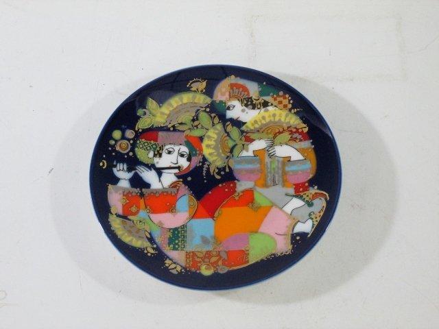 Rosenthal Bjorn Wiinblad Plate Orientalische Nachtmusik