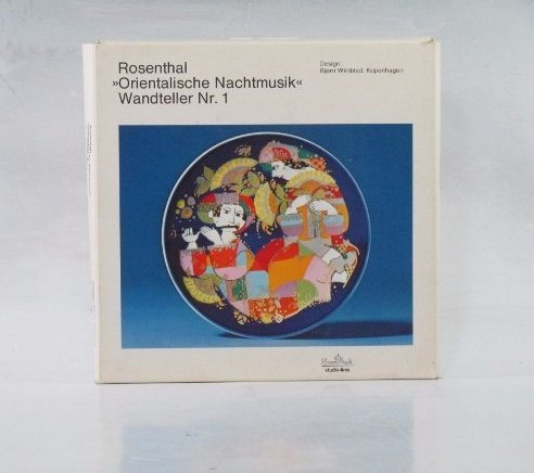 Rosenthal Bjorn Wiinblad Plate Orientalische Nachtmusik - 3