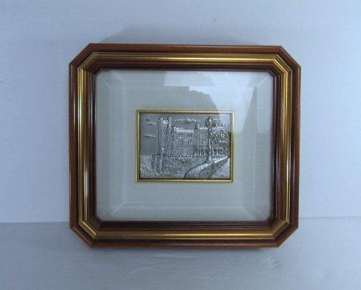"Allianni Silver Art Picture ""Trieste-Miramarte"" framed"