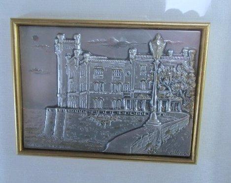 "Allianni Silver Art Picture ""Trieste-Miramarte"" framed - 2"