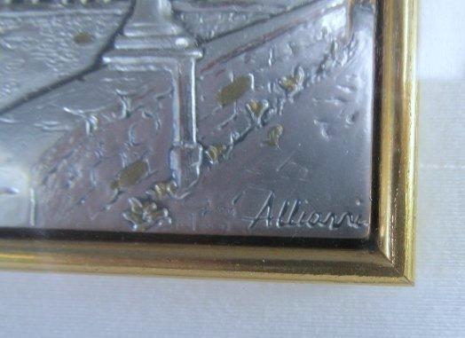 "Allianni Silver Art Picture ""Trieste-Miramarte"" framed - 3"