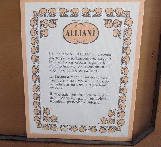 "Allianni Silver Art Picture ""Trieste-Miramarte"" framed - 5"