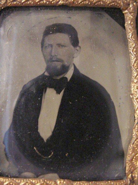 115: Tin Type Photo of John Jarrette Jesse James Coll.
