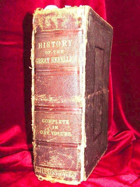 126 History of  Great Rebellion Lincoln Davis Quantrill