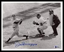 Joe DiMaggio Autographed 8x10 Photo New York Yankees