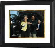 Bernhard Langer signed PGA 11x14 Photo Custom Framing-