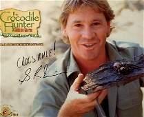 Steve Irwin The Crocodile Hunter Signed 8x10 Photo JSA