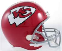 Chiefs FS Helmet Signed by (4) With Curley Culp, Jan