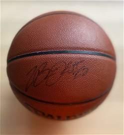 Lebron James signed basketball