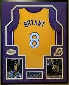 Kobe Bryant Vintage 2001 Full Name Autographed Signed