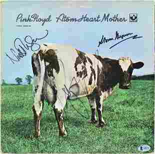 Pink Floyd (3) Waters, Mason & Thorgerson Signed Album