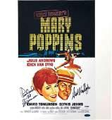 Dick Van Dyke & composer Richard Sherman signed Mary