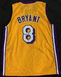 Kobe Bryant Signed Jersey (Beckett LOA)