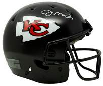 Joe Montana Signed Kansas City Chiefs FS Custom Matte