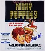 Dick Van Dyke autograph signed Mary Poppins 11x14 Movie
