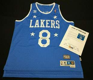 Kobe Bryant Signed '04-'05 Los Angeles Lakers Blue