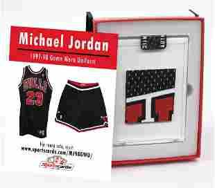 MICHAEL JORDAN 1997-98 CHICAGO BULLS GAME-WORN JERSEY