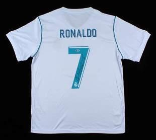 Cristiano Ronaldo Real Madrid Signed Jersey (Beckett