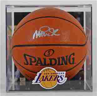 Magic Johnson Signed NBA Game Ball Series Basketball