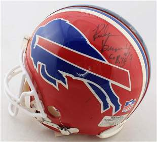 Ruben Brown Signed Bills Full-Size Authentic On-Field