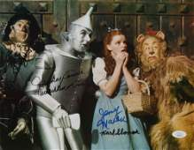 """""""The Wizard of Oz"""" 11x14 Photo Cast-Signed by (4) with"""