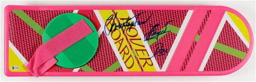 """Christopher Lloyd Signed """"Back To The Future Part II"""""""