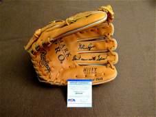 Nolan Ryan inscribed glove