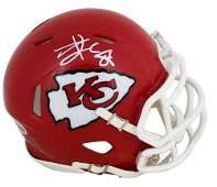 Travis Kelce Signed Chiefs Speed Mini-Helmet (Beckett