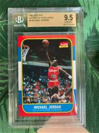96/97 Jordan Fleer Decade Of Excellence 1986 BGS 9.5