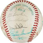 1978 NY Yankees World Series Champs Team Signed