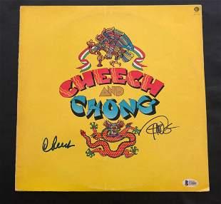 CHEECH AND CHONG SIGNED ALBUM VINYL LP AUTOGRAPH