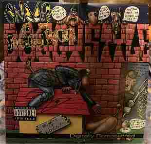 Snoop Dogg Signed Doggystyle Lp Album Psa