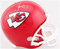 Tyreek Hill Signed Chiefs Full-Size Helmet (Schwartz