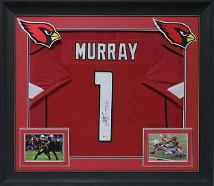 Kyler Murray signed and Framed Arizona Cardinals jersey