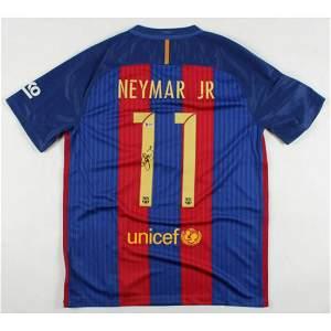 Neymar Signed FC Barcelona Jersey (Beckett LOA)