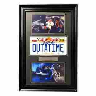 Back to the Future Signed Christopher Lloyd SIGNED